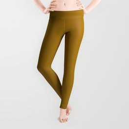 Golden Yellow Leggings