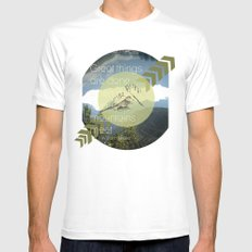 Great things White Mens Fitted Tee MEDIUM