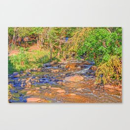 Handpainted by Nature Canvas Print