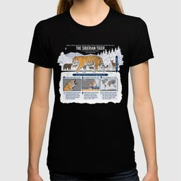 The Wild Ones: Siberian Tiger (info) T-shirt