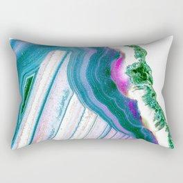 Agate Geode Rectangular Pillow