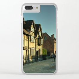 Shaky's House Clear iPhone Case