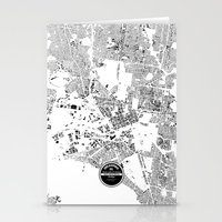 melbourne Stationery Cards featuring MELBOURNE by Maps Factory