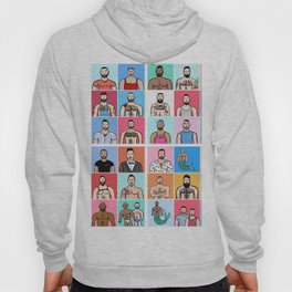 Beard Boy: Collage Hoody