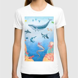 Message from the deep sea T-shirt