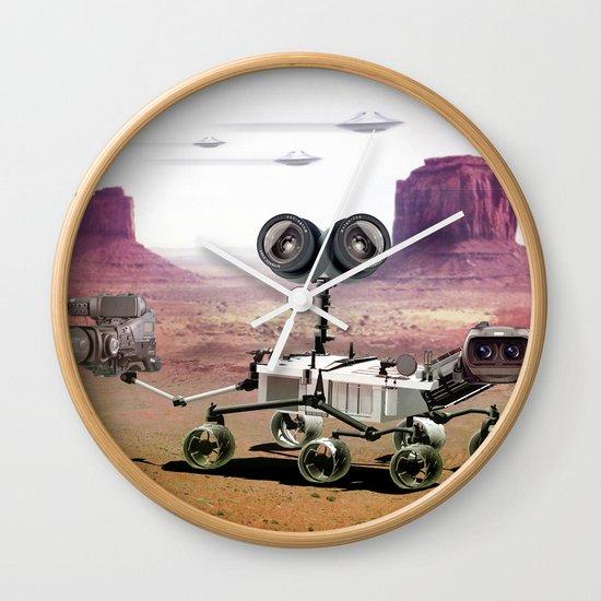 Behind you Wall Clock