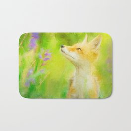 Enchanted Fox Bath Mat