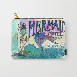 Mermaid Motel Carry-All Pouch