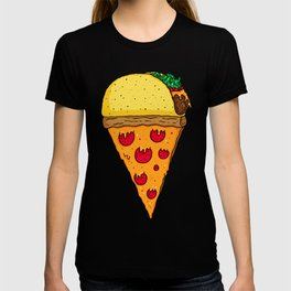 Taco Pizza Cone T-shirt