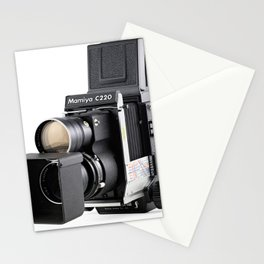 Mamiya C220f Medium format TLR film Camera Stationery Cards