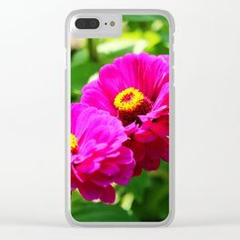 Bright And Beautiful Flowers Clear iPhone Case