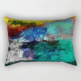 Voyage of Woman Rectangular Pillow