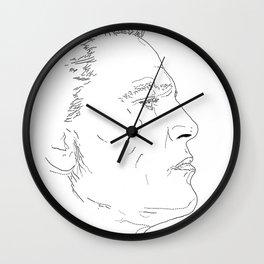NOORD portrait #2 / Wall Clock
