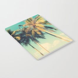 tropical trees in florida Notebook
