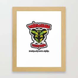 Wolfmouse at the Sherman Oaks Arena Framed Art Print