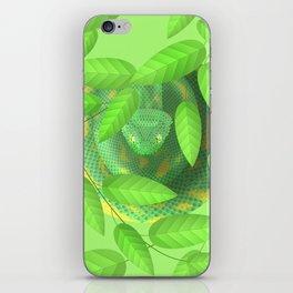Bush viper iPhone Skin