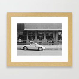 Morning Routine in Old Bellevue Framed Art Print