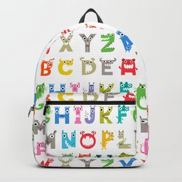 Alphabet Critters 2 Backpack