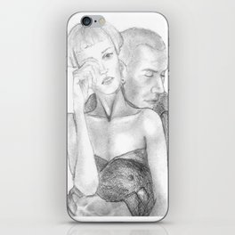 In his arms iPhone Skin