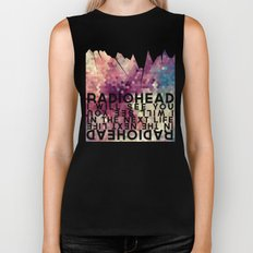 Radiohead: I Will See You in the Next Life Biker Tank