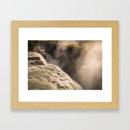 Gulfoss 2 Framed Art Print