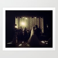 jewish Art Prints featuring Jewish Wedding by Yael Levey