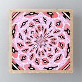 Flying discs Framed Mini Art Print