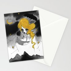 Late Summer Sky Stationery Cards