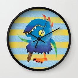 Peg Leg Parry Wall Clock