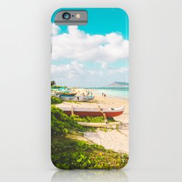Lanikai Beach iPhone Case