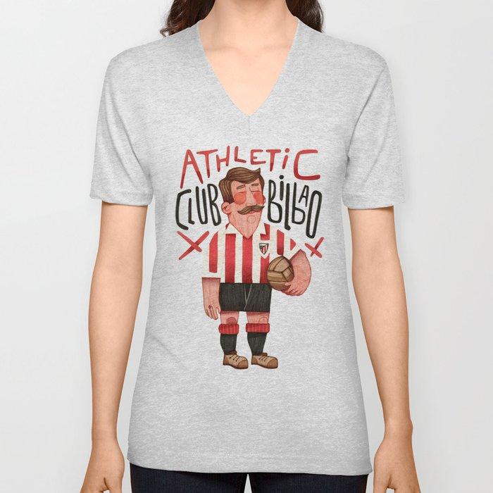 Athletic Club Bilbao Unisex V-Neck