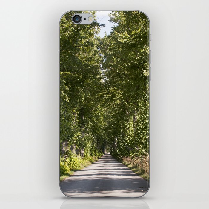 Down the road iPhone Skin