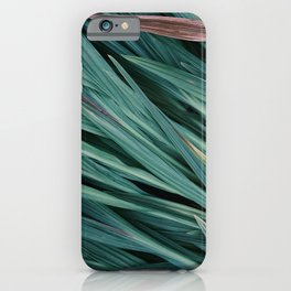 Zen Grass iPhone Case