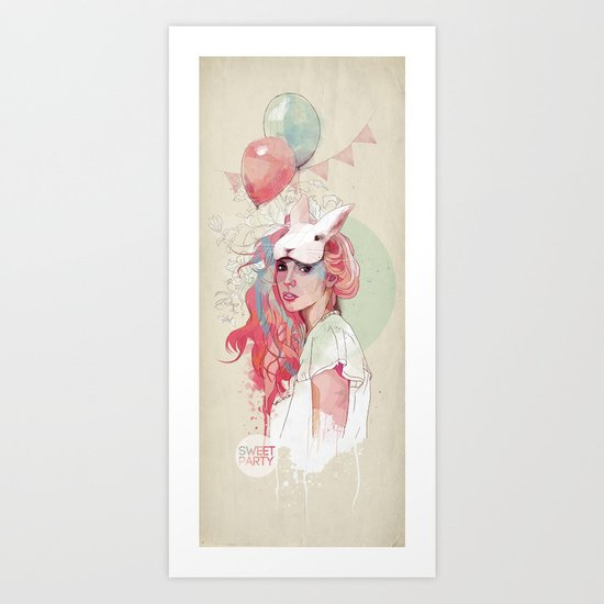 Sweet Party Art Print
