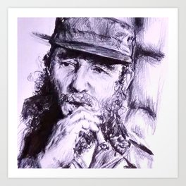 Castro Art Print