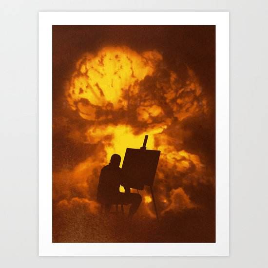 Disasterpiece Art Print