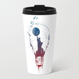 Big city lights II Travel Mug