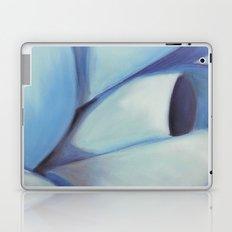 Blue Ribbon - Pastel Illustration Laptop & iPad Skin
