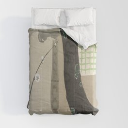 Kamisaka Sekka painting Comforters