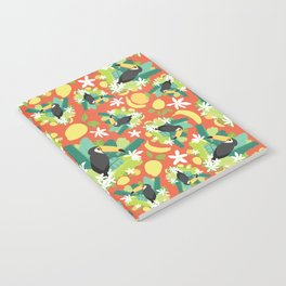 Toucans Everywhere - Red Notebook