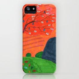 Mystical Tree iPhone Case