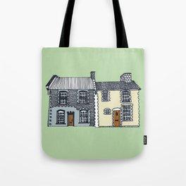 'Norfolk' House Print Tote Bag