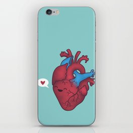Heart Hearts You iPhone Skin