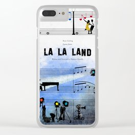 La La Land Clear iPhone Case