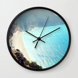 marine collection. Greece. Kefalonia Wall Clock