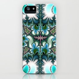 Fractal Rectangle iPhone Case