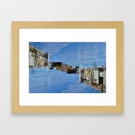 River Right Through Framed Art Print