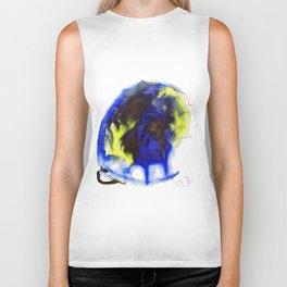 "Fantastic animals ""Blue Turtle"" Biker Tank"