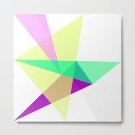 Triangles No19 Metal Print