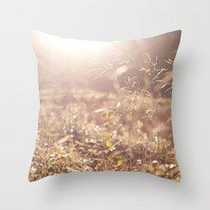 Fields. Throw Pillow